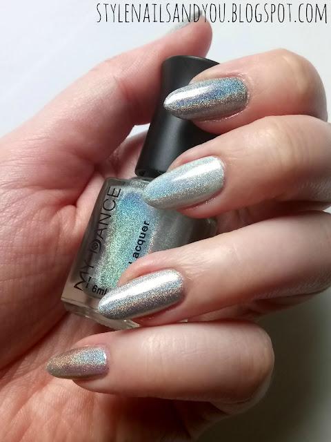 My Dance Holographic Nail Polish 004| BeautyBigBang