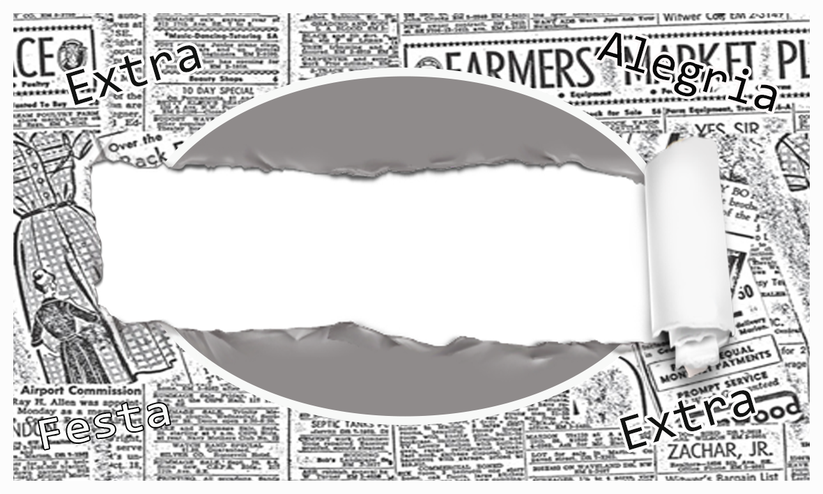 newspaper themed party free printable kit