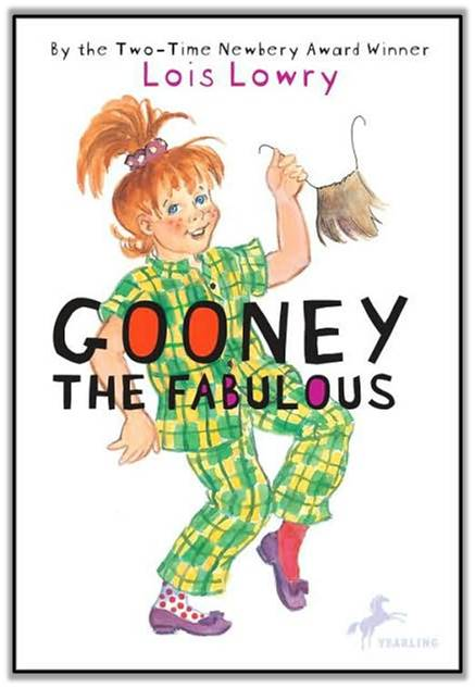 http://www.amazon.com/Gooney-Fabulous-Bird-Lois-Lowry/dp/0440422531/ref=sr_1_1?s=books&ie=UTF8&qid=1392651854&sr=1-1&keywords=gooney+the+fabulous
