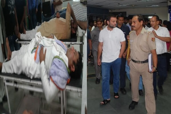 Six booked for assault on Haryana Congress leader
