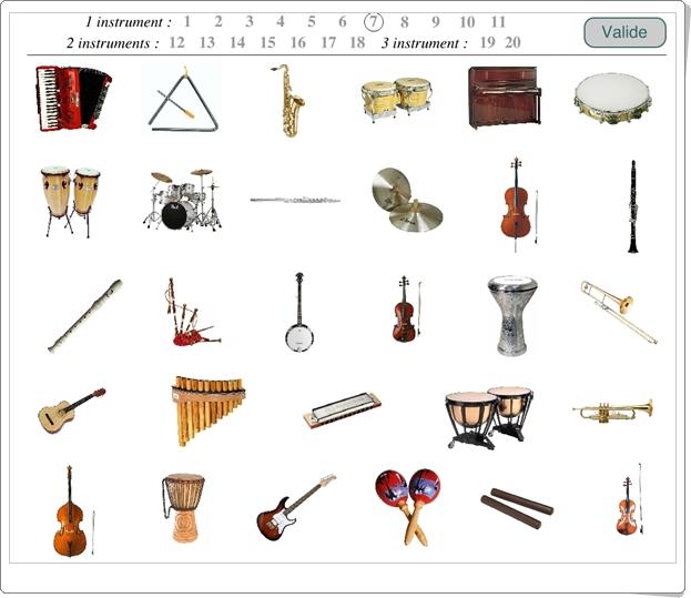 """""""El juego de los instrumentos"""" (Juego de Música)"""