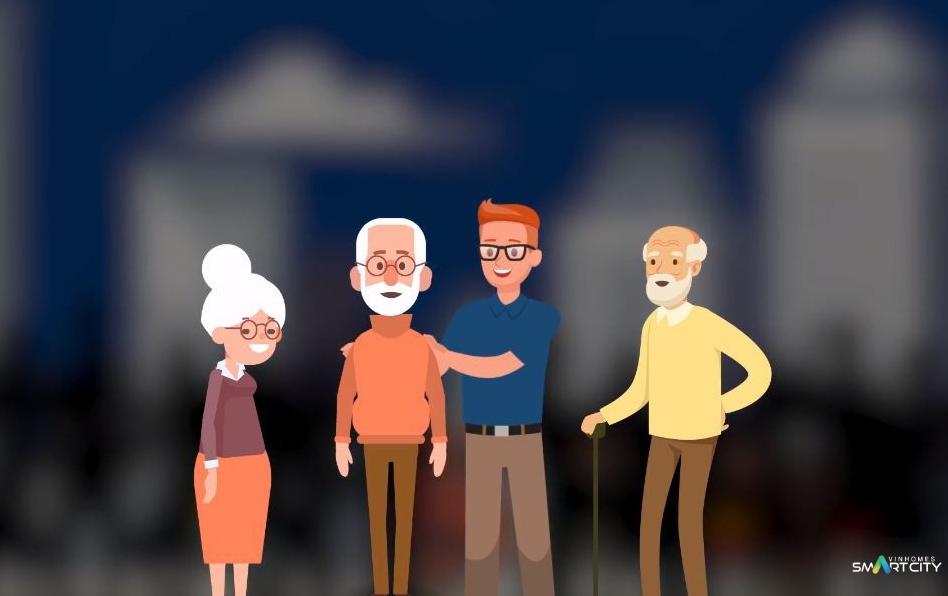Người cao tuổi lựa chọn sống tại Vinhomes Tây Mỗ