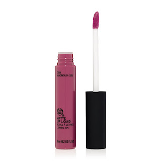 Goa Magnolia Matte Lip Liquid dries to a velvety finish