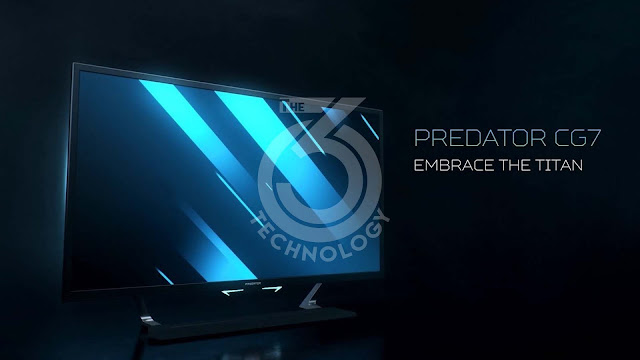Predator CG7: Acer gives way to the trend of giant gaming screens