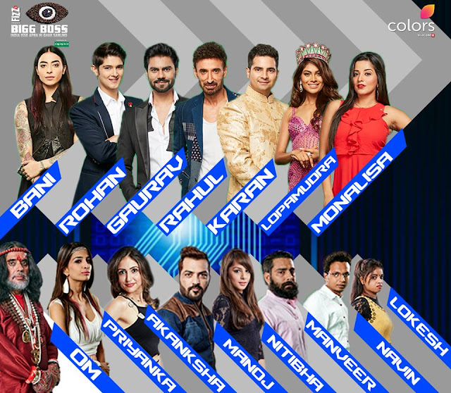 Bigg Boss 10 Contestants Name List With Photos