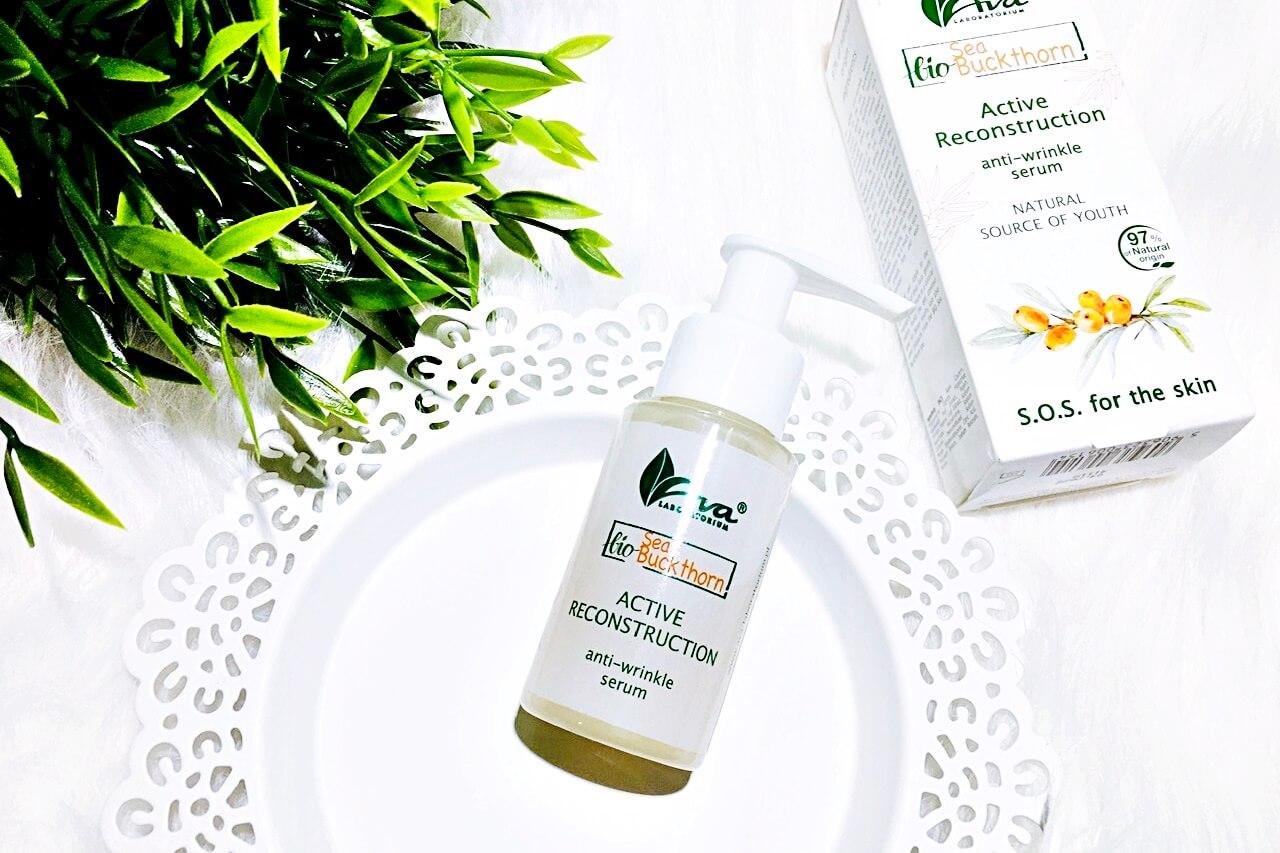 Serum przeciwzmarszczkowe Bio Rokitnik Ava - aktywna odbudowa, Kosmetyki z rokitnikiem Bio Rokitnik Ava