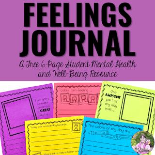 Free Feelings Journal Resource