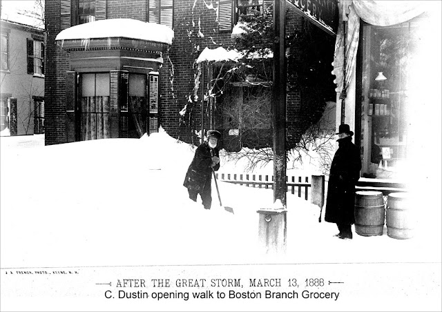 - Blizzard of March 1888. Boston Branch Grocery. Some Wicked Drag. marchmatron.com