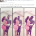 See what this Ghanaian girl wrote as she welcomed her man home