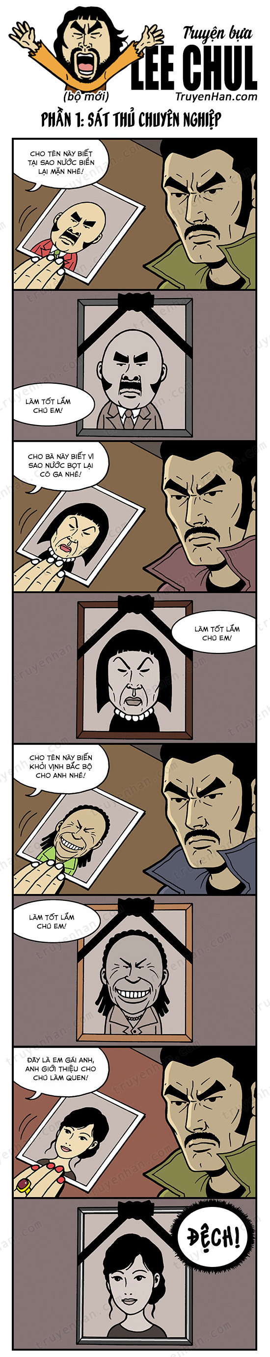 Lee Chul (bộ mới) phần 1: Sát thủ chuyên nghiệp