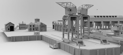 STRETCH GOAL LOCKED DOCKYARD SETUP picture 3