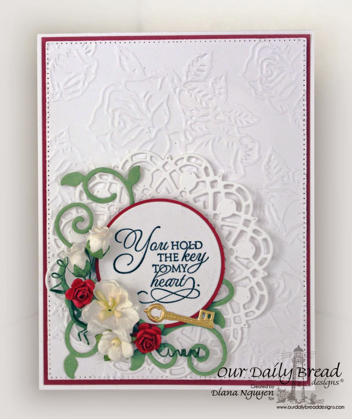 Our Daily Bread Designs, Key to Heaven, Flourished Star Pattern, Fancy Foliage, Doily, Angel WIngs, Designed by Diana Nguyen