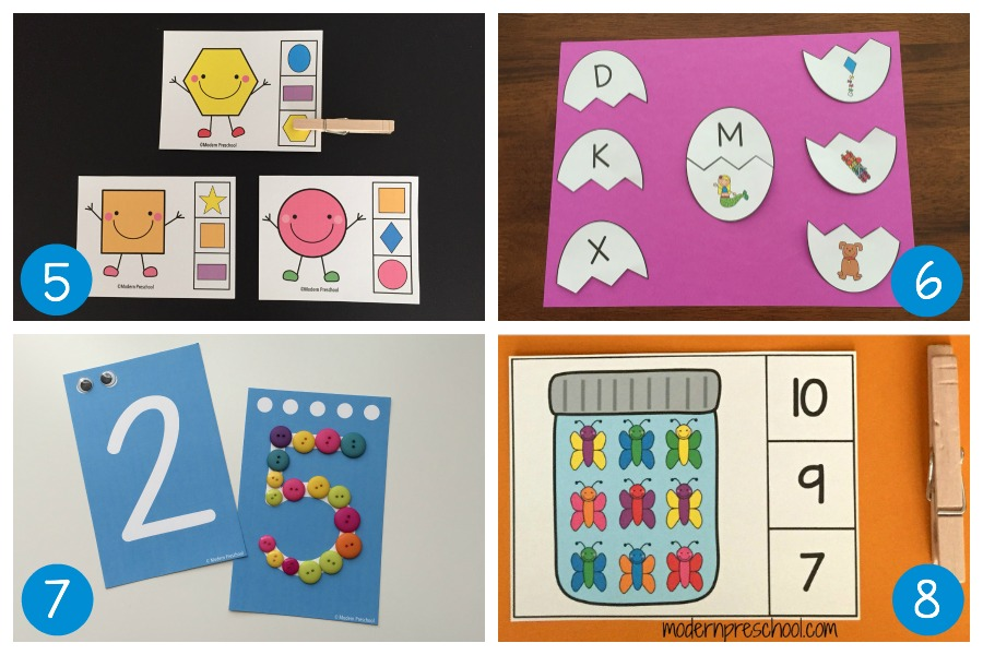 15 Super simple learning centers for preschool - The ...