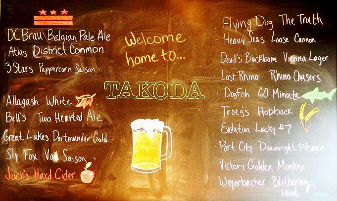 Shaw Takoda Restaurant Beer Garden Unveils Its Beverage