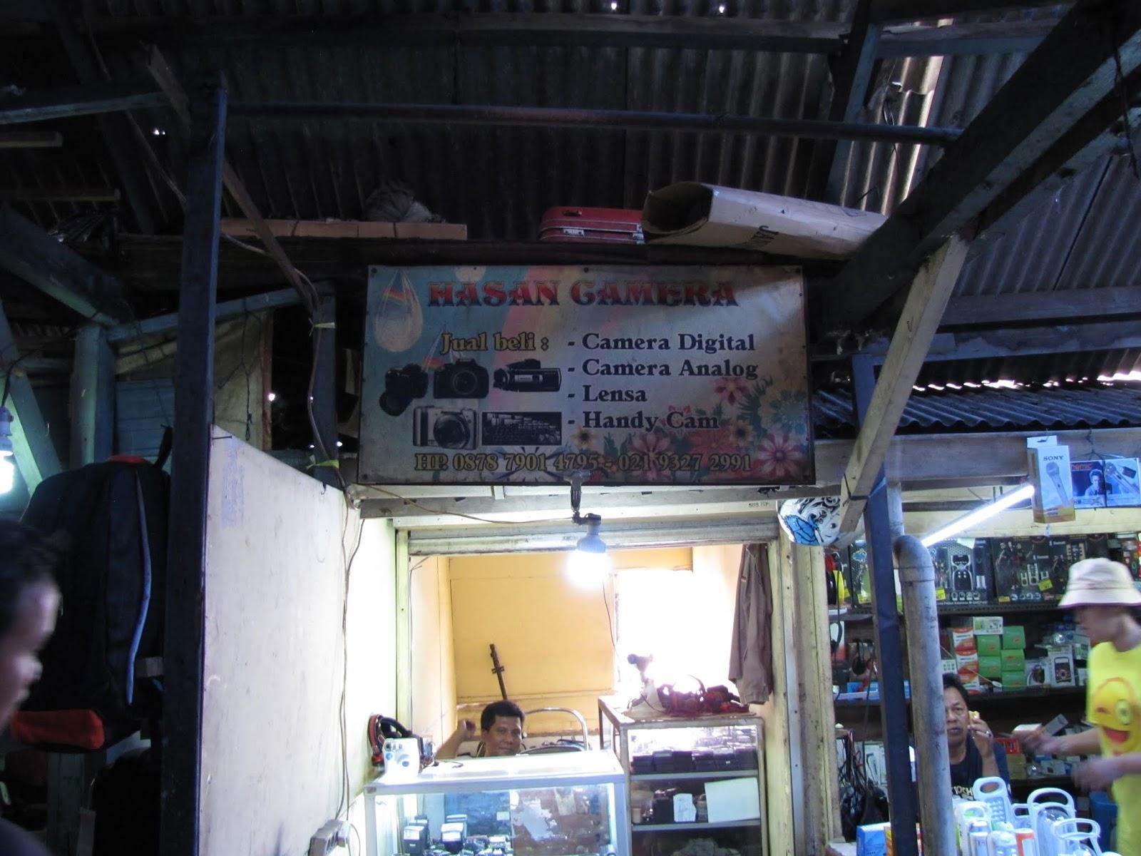 Pasar Poncol Jakarta Tempat Barang Bekas Dan Kamera Bekas Cing Ido