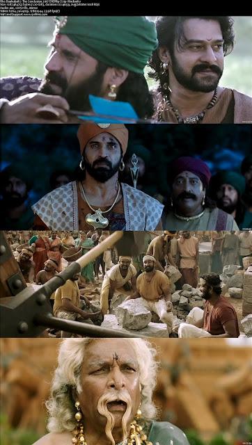 Baahubali 2 The Conclusion 2017 DVDRip 720p Hindi 800MB