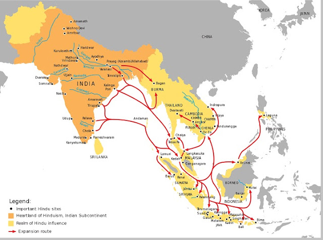 Hindu kingdoms in the Indonesian archipelago