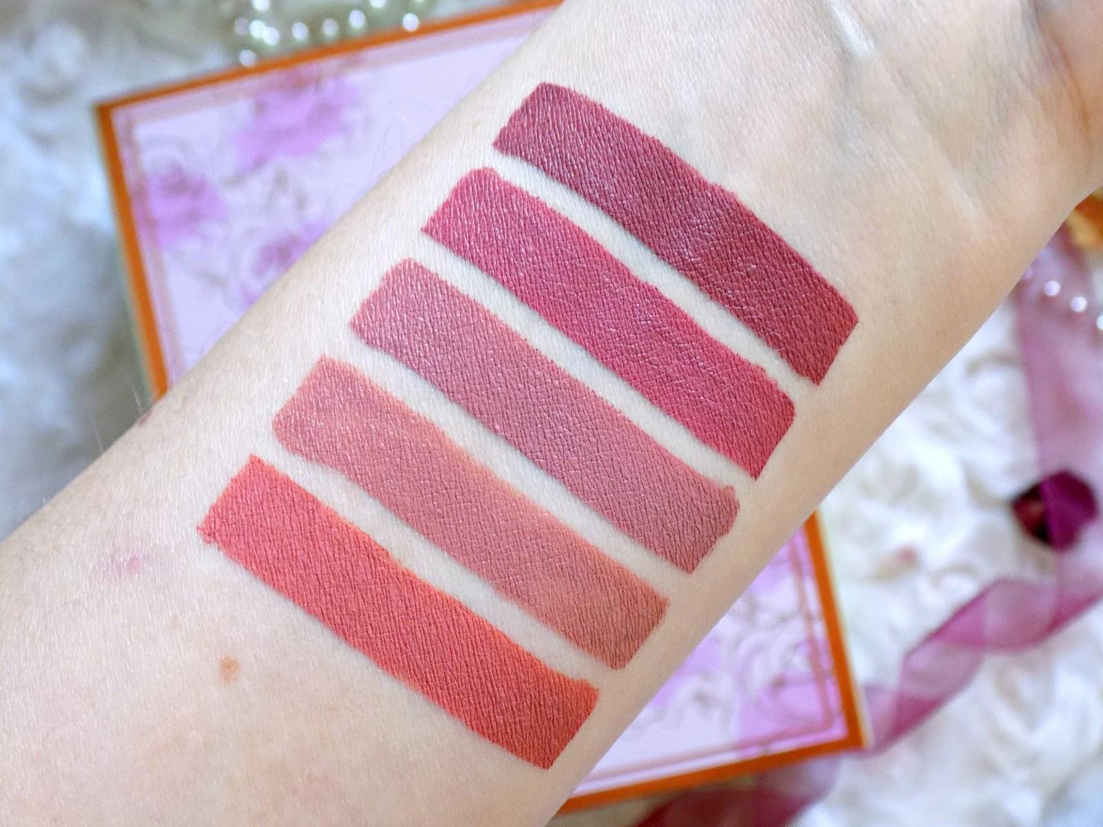 Pixi MatteLast Liquid Lip swatches