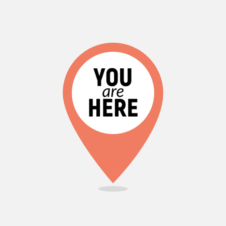 'You are Here' location marker