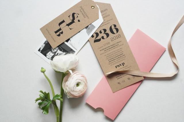 rsvp, zaproszenia na ślub La dolce Wedding.