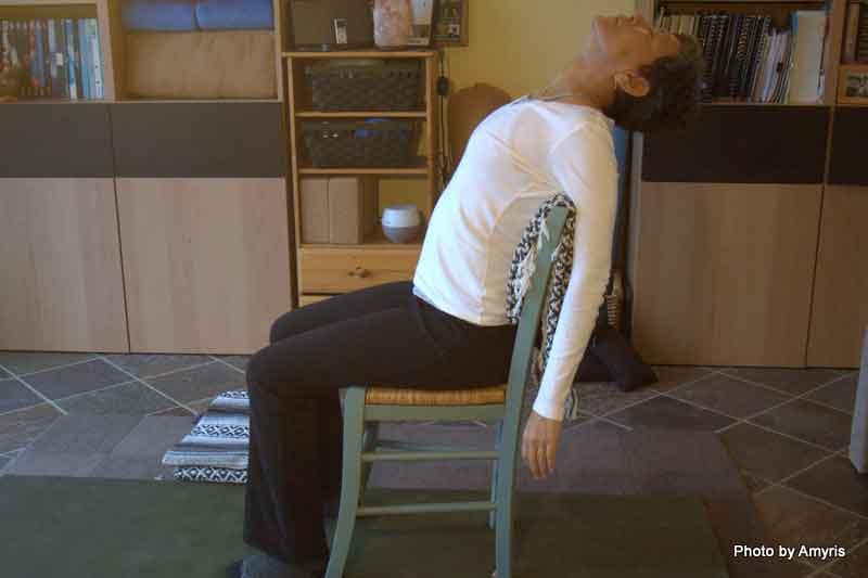 Backbend soutenu - Assis