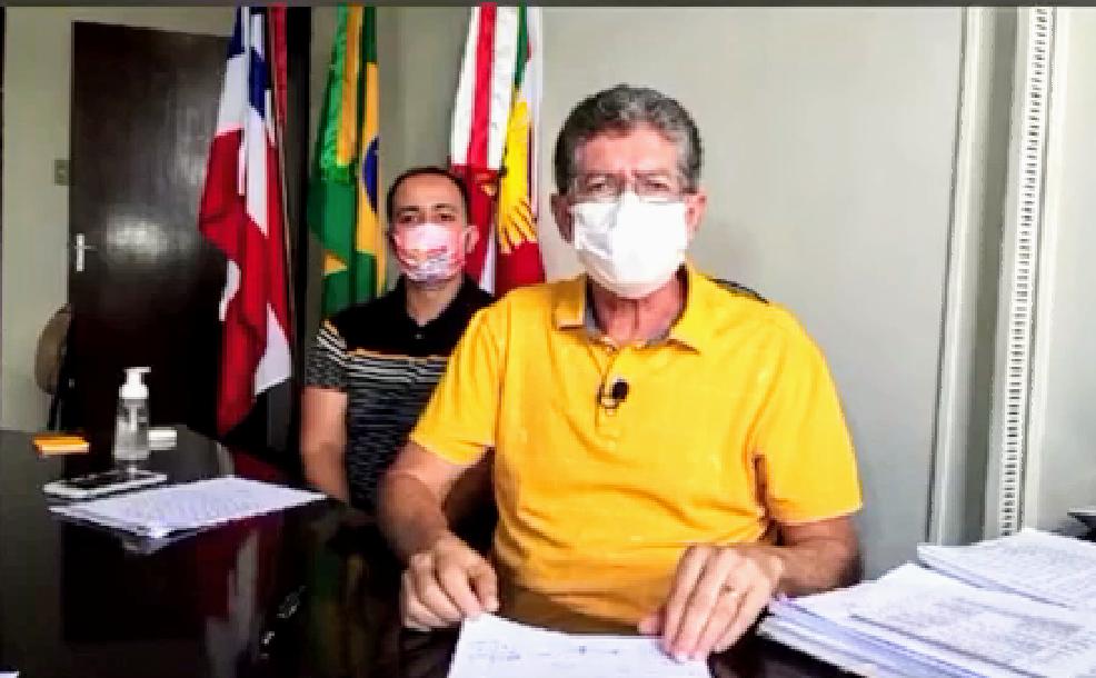 BAHIA ACONTECE !: ASSISTA; Em live, prefeito de Bonfim diz que ...