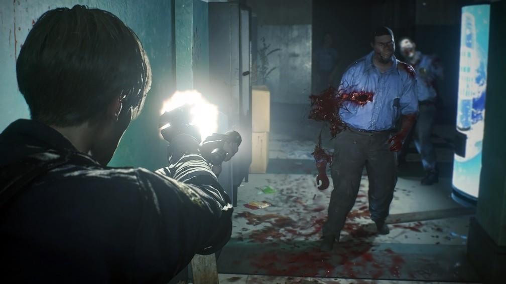 Remake Resident Evil 2/Capcom/Reprodução