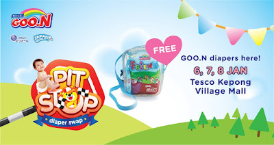 GOO.N Pitstop Roadshow at Tesco Kepong Village Mall