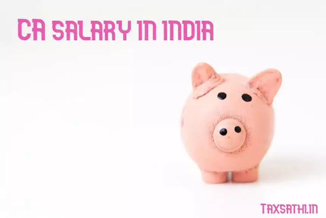 CA( Chartered Accountant) Salary in India