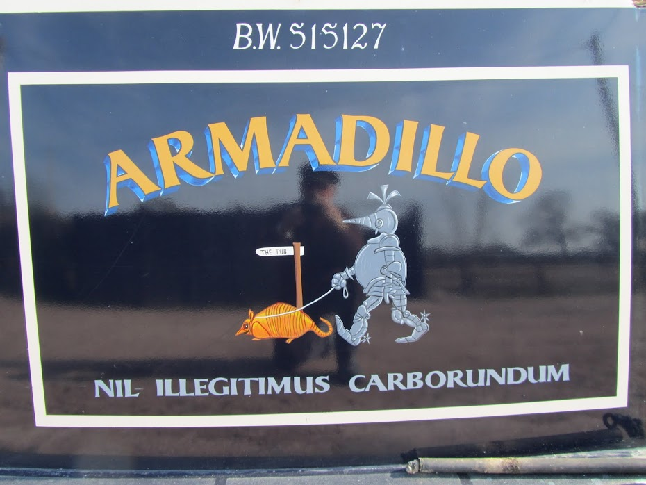 Narrowboat Armadillo