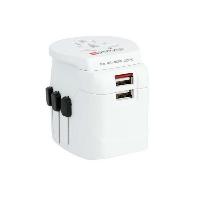 Skross World Travel Adapter Pro Light USB