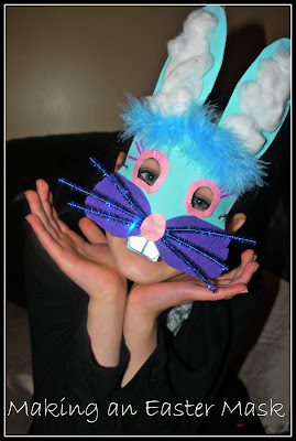 Easter bunny, craft