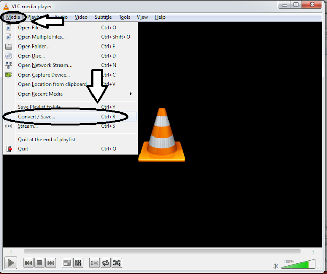 How to rotate and save a video using VLC media player?