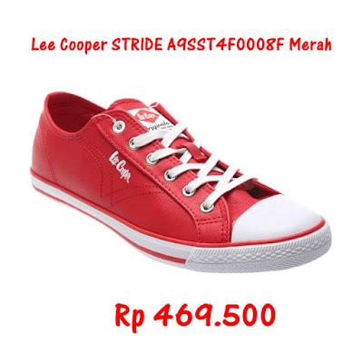Lee Cooper Stride Merah