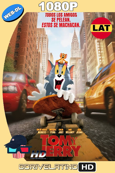 Tom y Jerry (2021) HMAX WEB-DL 1080p Latino-Ingles MKV