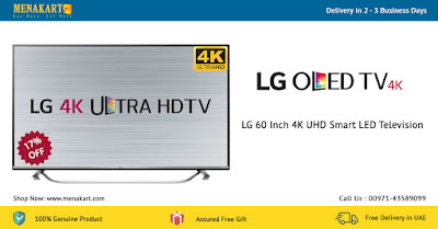 LG 60 Inch 4K UHD Smart LED Television