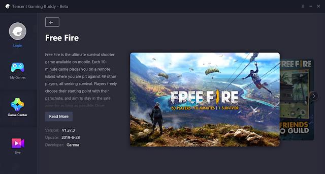 Free Fire tidak bisa di install karena tombol installnya hilang Cara Mengatasi Tencent Gaming Buddy Free Fire Error Tidak Ada Tombol Install