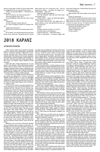 Öykü Gazetesi 32.Sayı Sayfa 7