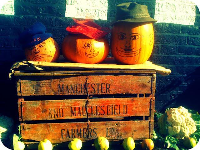 Harvest pumpkin characters