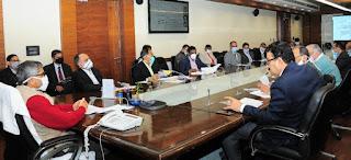 मुख्य सचिव की अध्यक्षता में इन्वेस्ट यूपी की उच्च-स्तरीय बैठक सम्पन्न