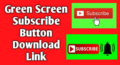 Green Screen Subscribe Button Click And Bell Free Download