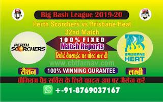 Perth vs Brisbane BBL T20 32nd,