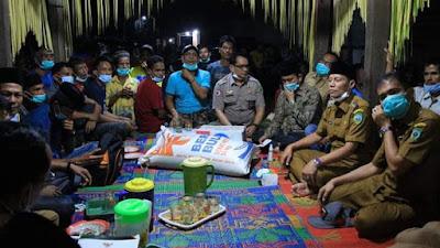 Kecamatan Mapat Tunggul Dikunjungi Rombongan Wabup Pasaman Sabar AS