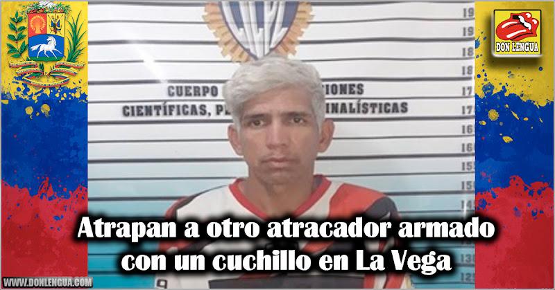 Atrapan a otro atracador armado con un cuchillo en La Vega