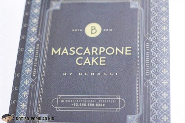 Mascarpone Cake by Benassi