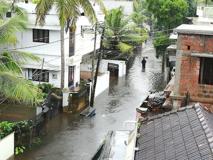 Floods bring havoc and disaster in Kerala