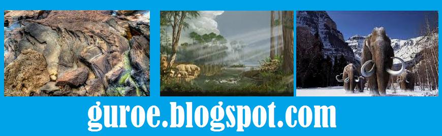 Zaman sejarah pembentukan bumi dapat dibagi menjadi 4, yaitu Prakambrium, Paleozoikum, Mesozoikum, dan Kenozoikum