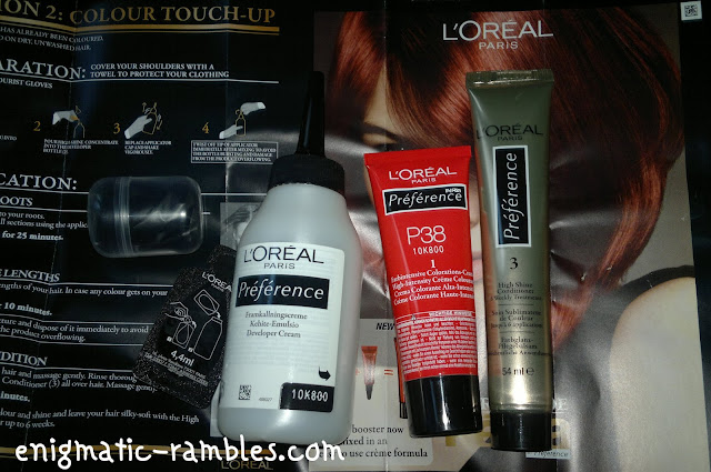loreal preference hair dye instructions