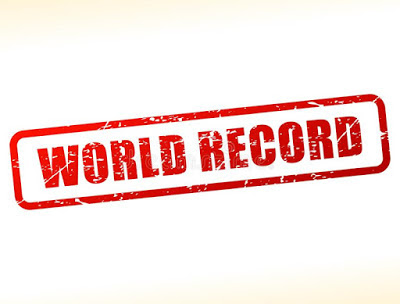 Top 10 world records in the world: