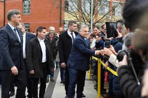 Orbán: legyen ismét a világ közepe Baranya és Szlavónia!